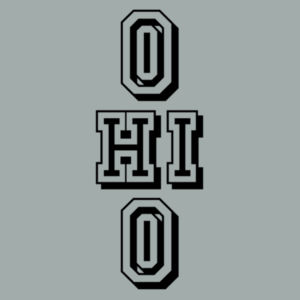 Ohio Stacked - Adult Fan Favorite Crew Sweatshirt Design