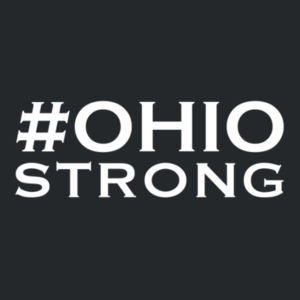 Ohio Strong - Youth Heavy Blend Crewneck Sweatshirt Design