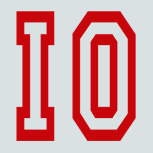 IO - Juniors Varsity V-Neck T Design